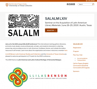 SALALM LXIV Seminar on the Acquisition of Latin American Library Materials