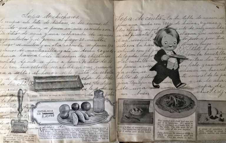 MEXICAN COOKING MANUSCRIPT, 20TH CENTURY [NO TITLE]