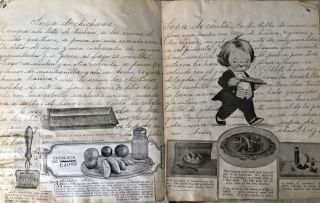 MEXICAN COOKING MANUSCRIPT, 20TH CENTURY [NO TITLE